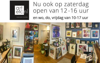 Openingstijden & kunst-service