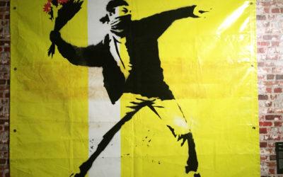 Banksy ontmaskerd door speciale opsporingstechniek