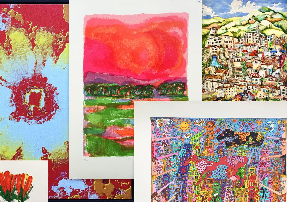 voorjaar lente kunst kleurrijk art etc Bussum