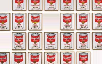 Soepblikken Warhol gestolen