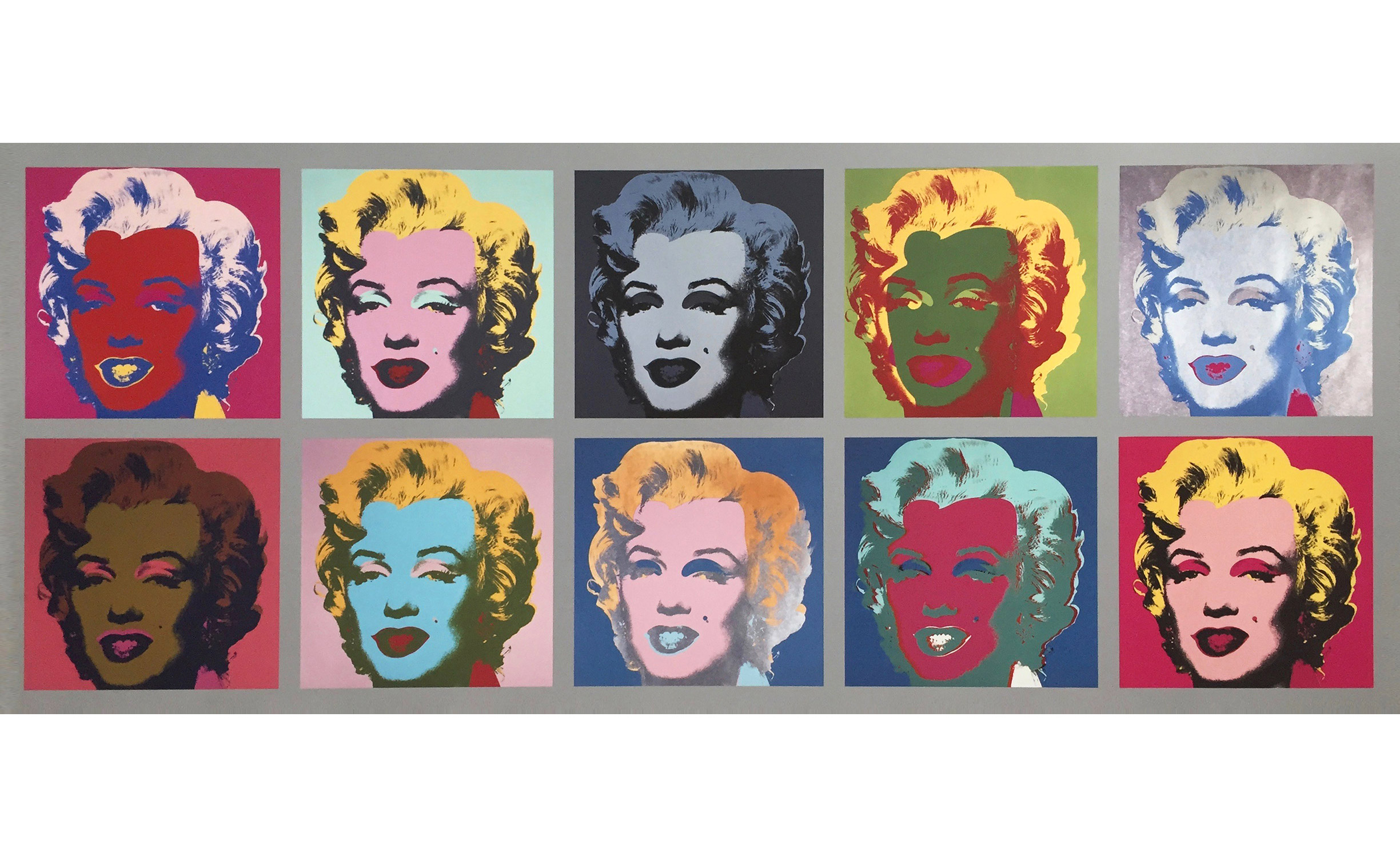 andy warhol marilyn monroe tableau art etc. Black Bedroom Furniture Sets. Home Design Ideas